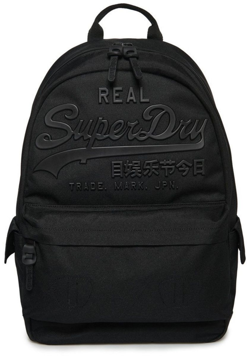 Superdry Premium Goods Backpack Bag Black