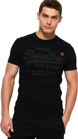 Superdry Orange Label Vintage Emb Long Sleeve T-Shirt