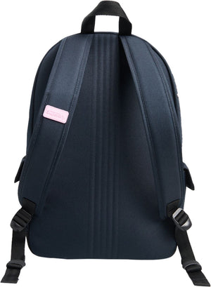 Superdry Rainbow Applique Montana Backpack Bag Navy
