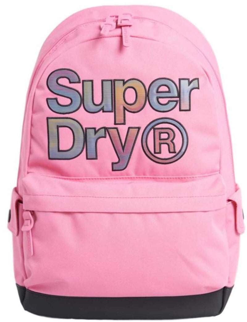 Superdry Rainbow Infill Montana Backpack Bag	Glory Pink