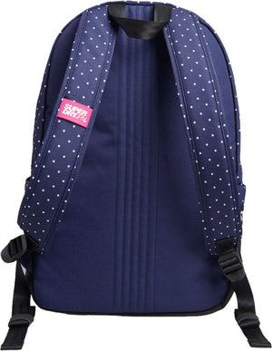 Superdry Repeat Series Montana Backpack Bag Navy
