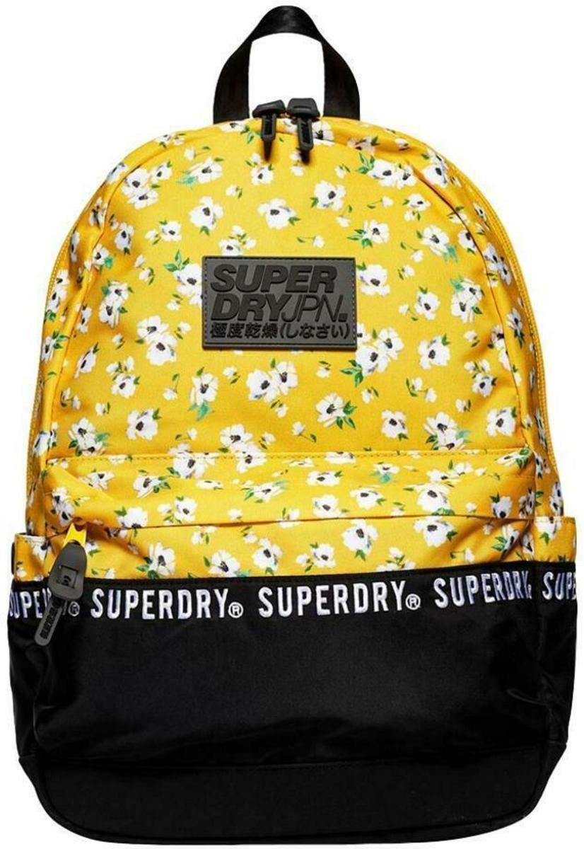 Superdry Repeat Series Montana Backpack Bag Yellow