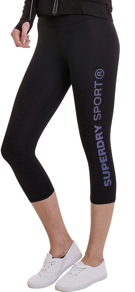 Superdry SD Sport 3/4 Cropped Leggings