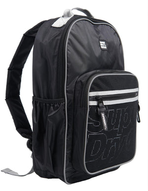 Superdry Scholar Backpack Bag Black