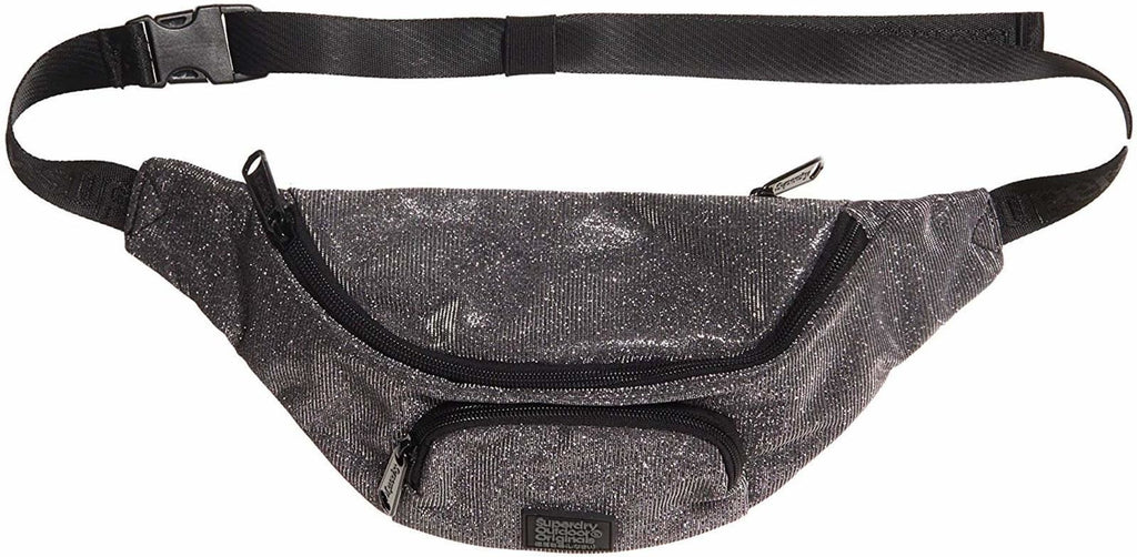 Superdry Sparkle Bum Bag Silver