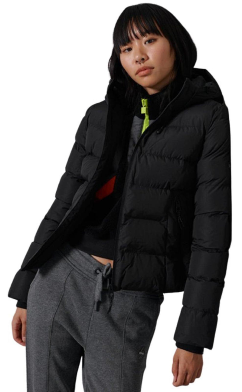 Superdry Spirit Sports Puffer Jacket	Black