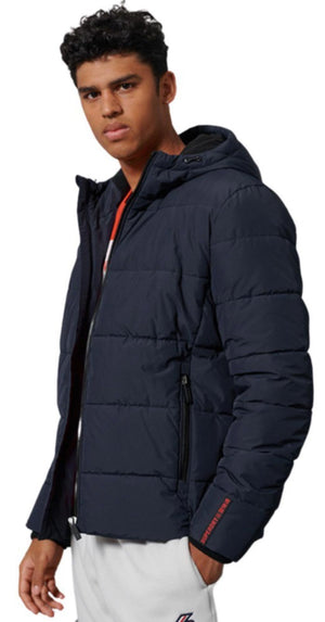Superdry Sports Puffer Jacket Navy