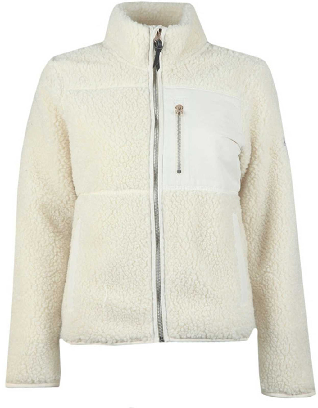 Superdry Storm Panel Borg Zip Jacket Beige
