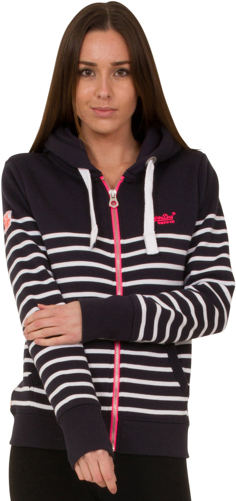 Superdry Sun & Sea Zip Front Sweat Hoodie