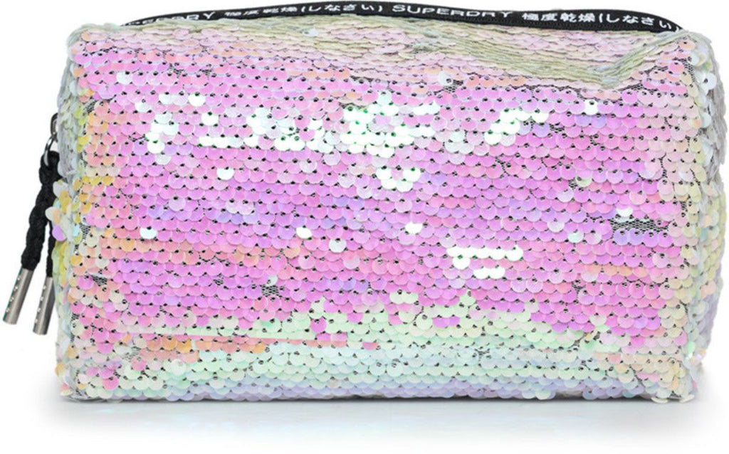 Superdry Super Sequin Case Pink
