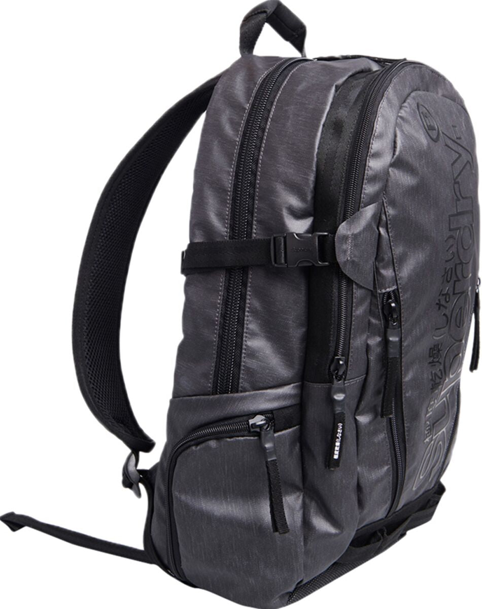 Superdry Tarp Backpack Bag Black