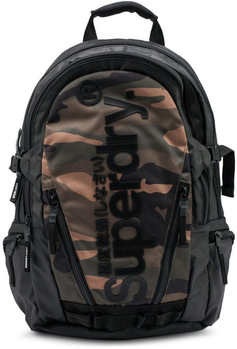 Superdry Tarp Backpack Bag Camo