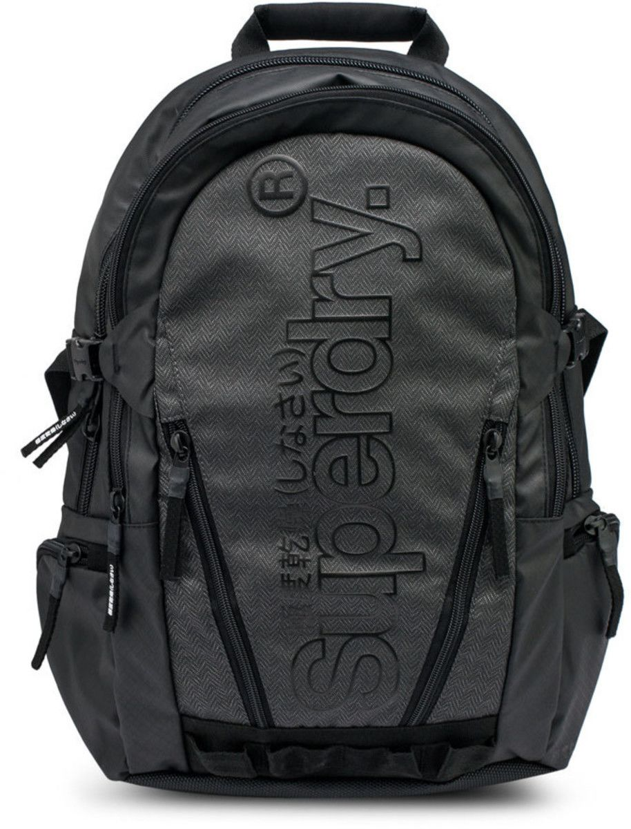 Superdry Tarp Backpack Bag Grey