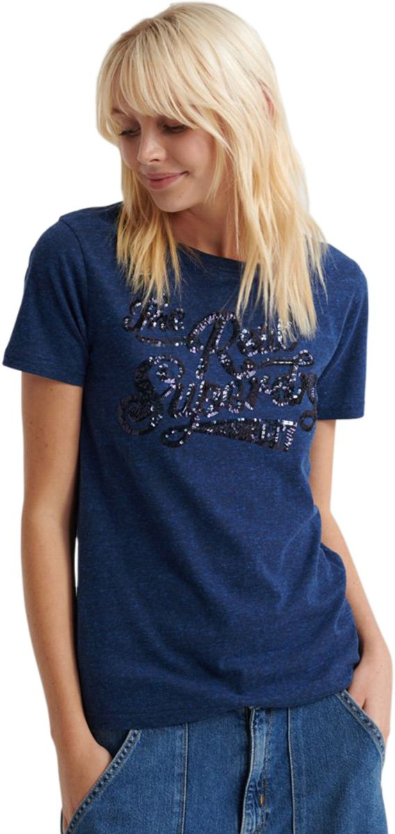 Superdry-The-Real-Sequin-T-Shirt-Rugged-Navy