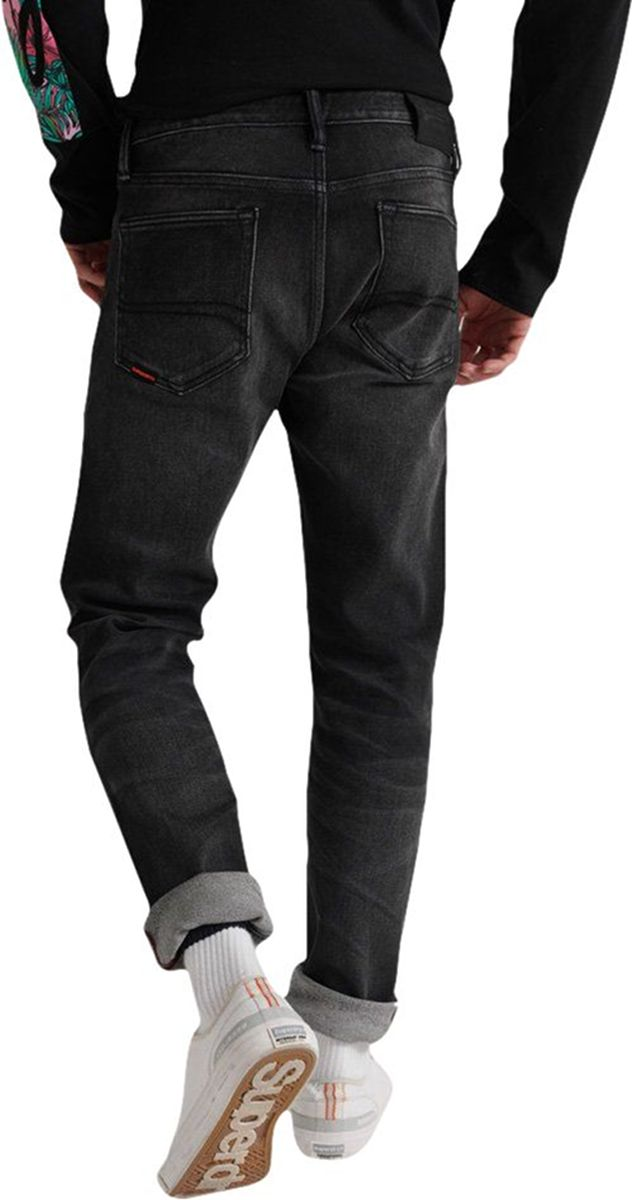 Superdry Tyler Slim Flex Denim Jeans Black