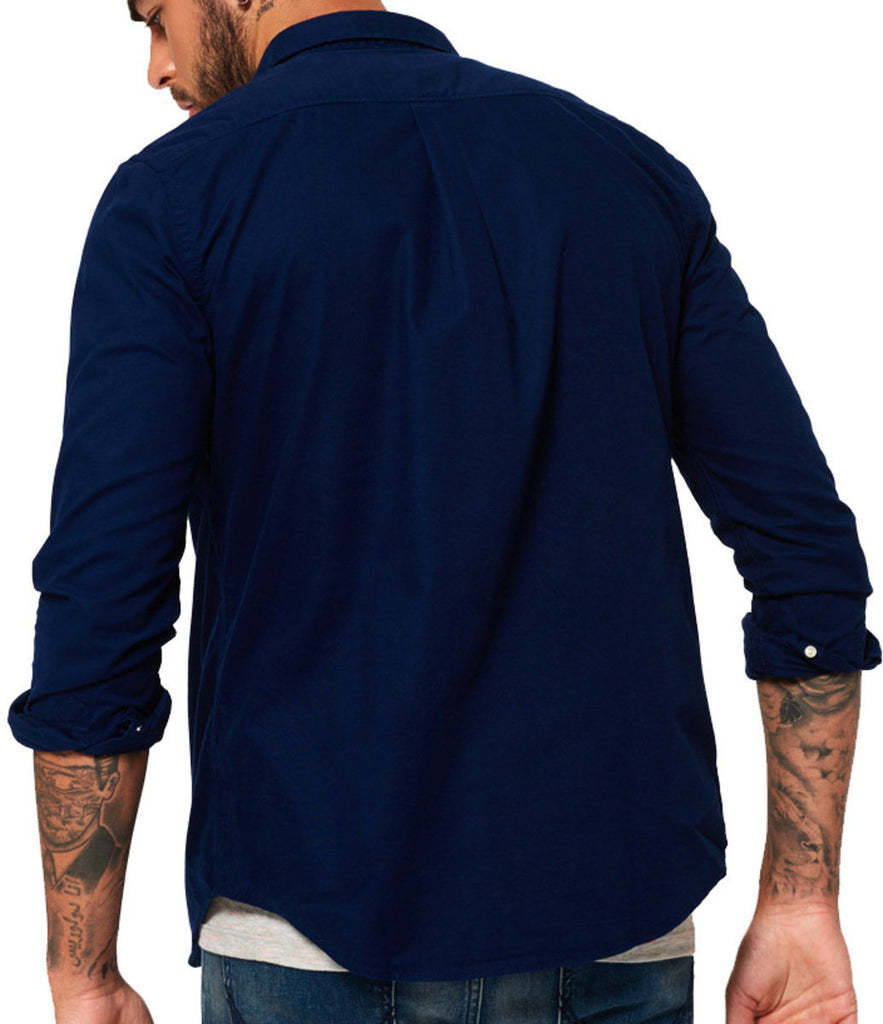 Superdry Ultimate Oxford Long Sleeve Regular Fit Shirt
