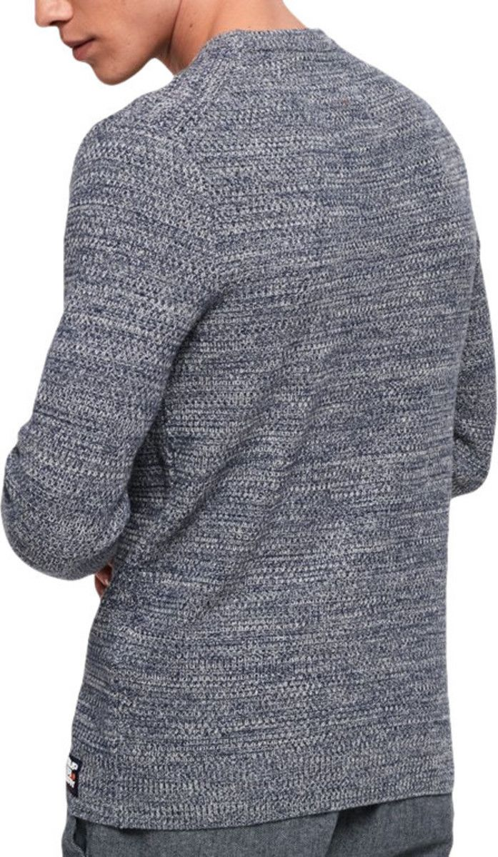 Superdry Upstate Knit Jumper Blue