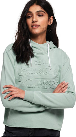 Superdry Women's Orange Label Elite Zip Front Hoodie