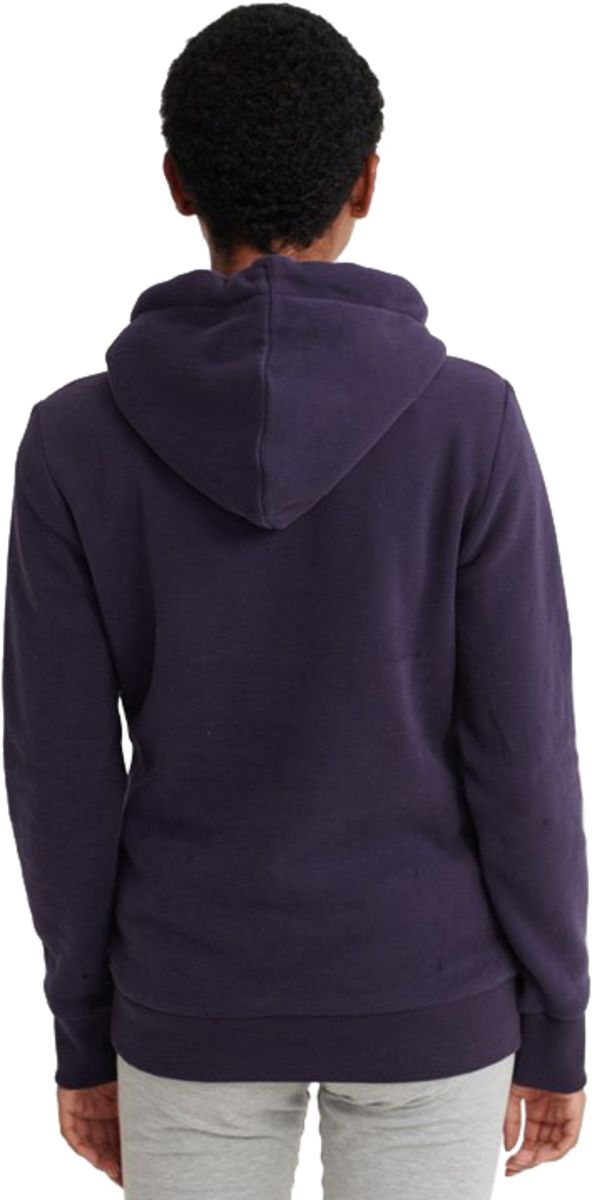 Superdry Vintage Logo Embroidered Outline Hoodie Blue