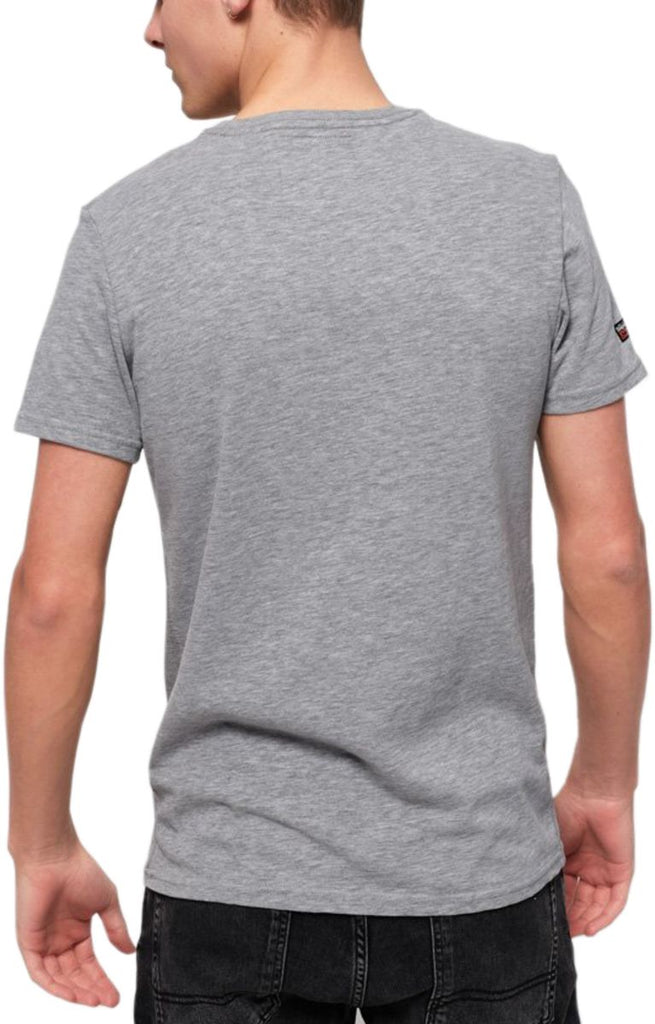 Superdry Vintage Logo Layered Camo T-Shirt Grey