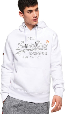 Superdry Women's Orange Label Zip Front Hoodie