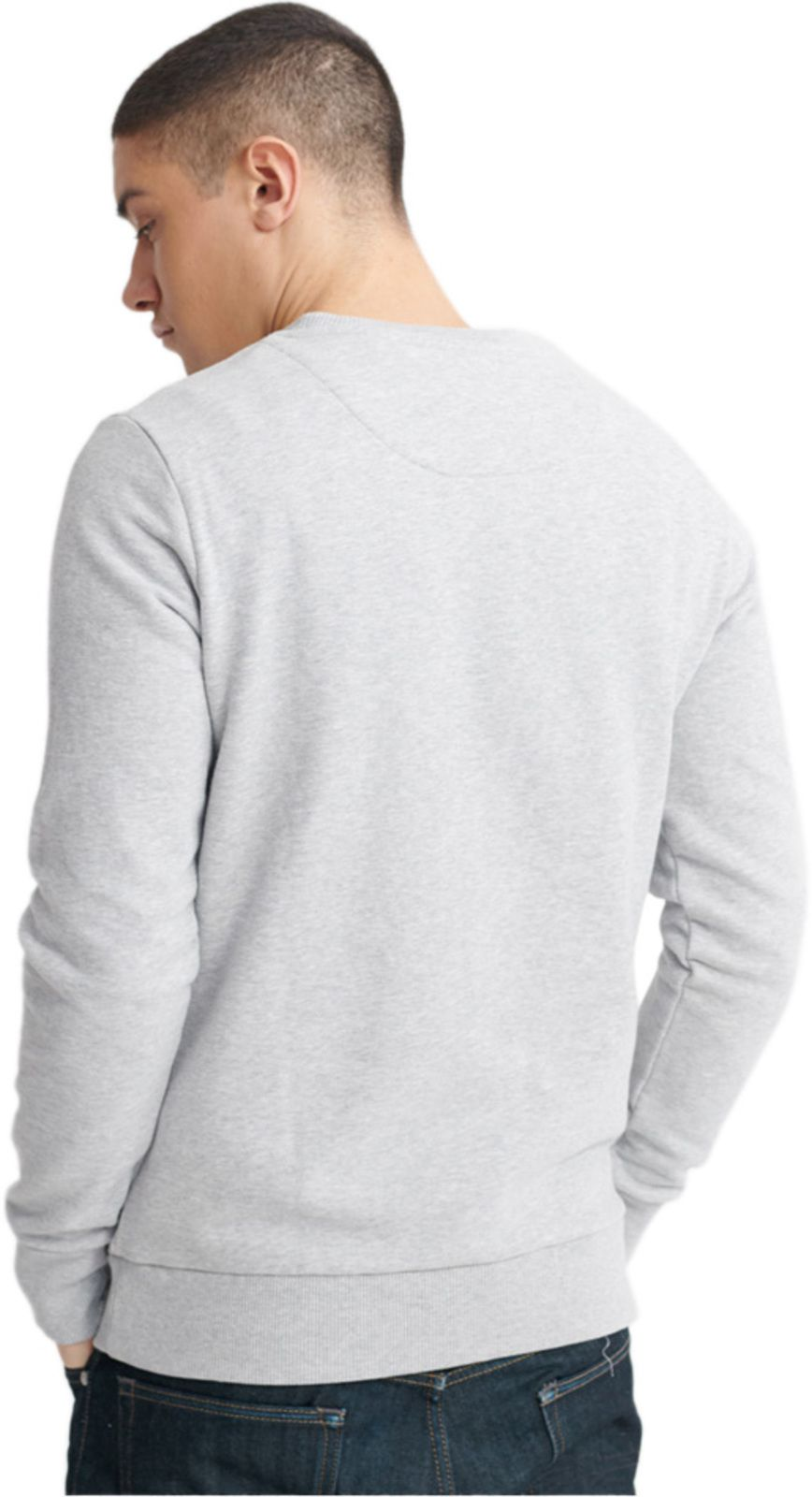 Superdry Vintage Logo Sweatshirt Grey