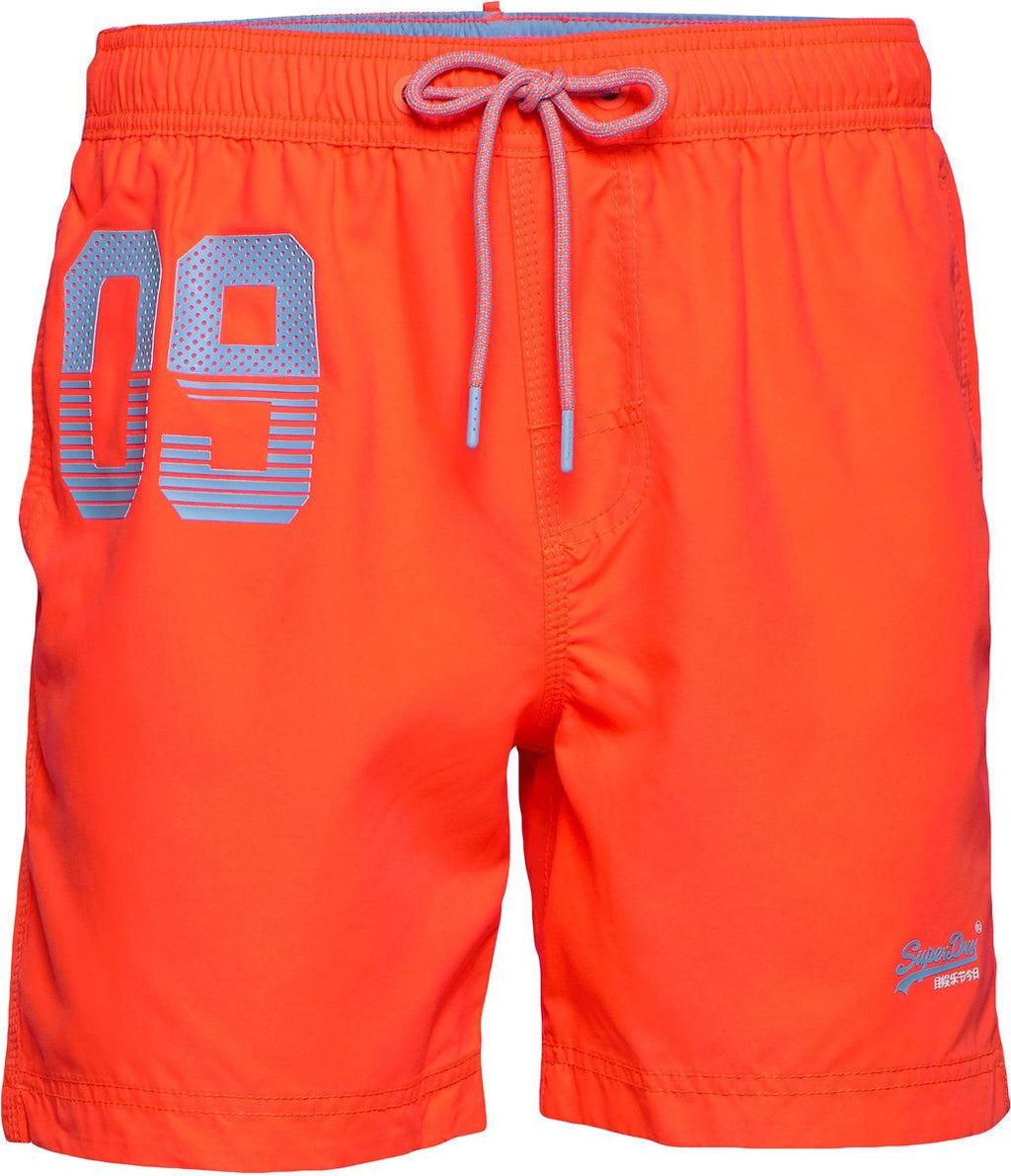 Superdry Waterpolo Swim Shorts Orange