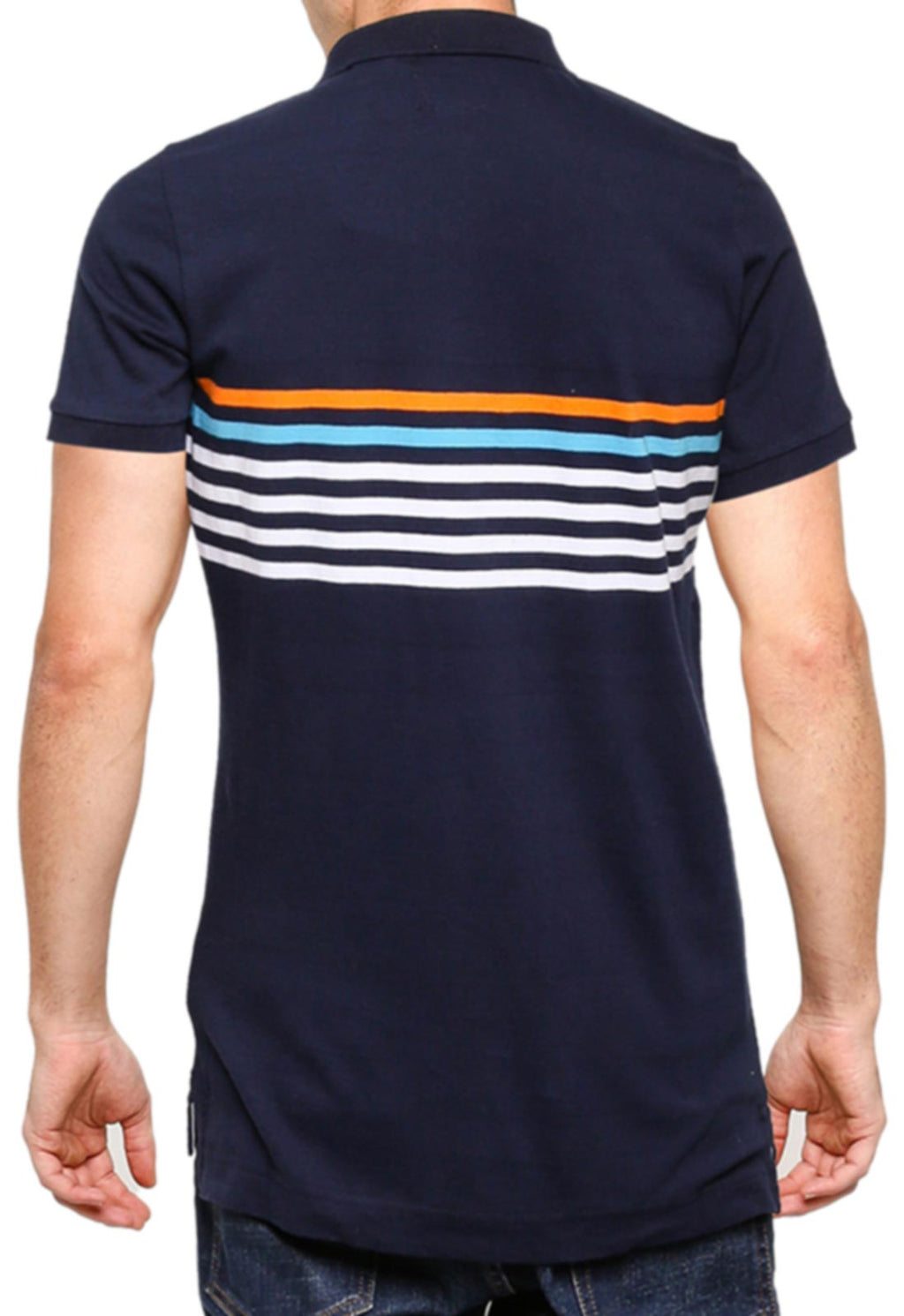 Superdry Weekender Jersey Polo Shirt	Nautical Navy