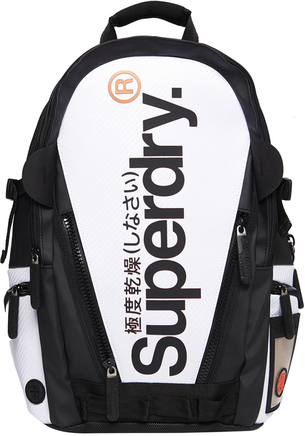 Superdry White Tarp Backpack Bag White