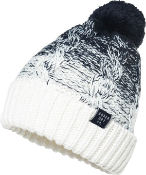 Superdry Women's Clarrie Cable Bobble Beanie Hat