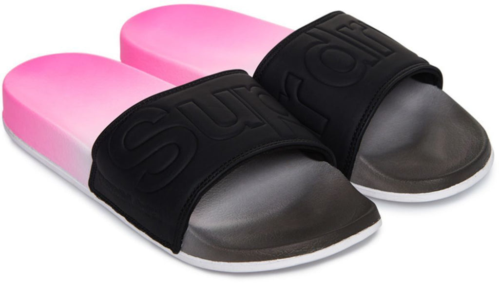 Superdry Women's Faded Beach Sliders