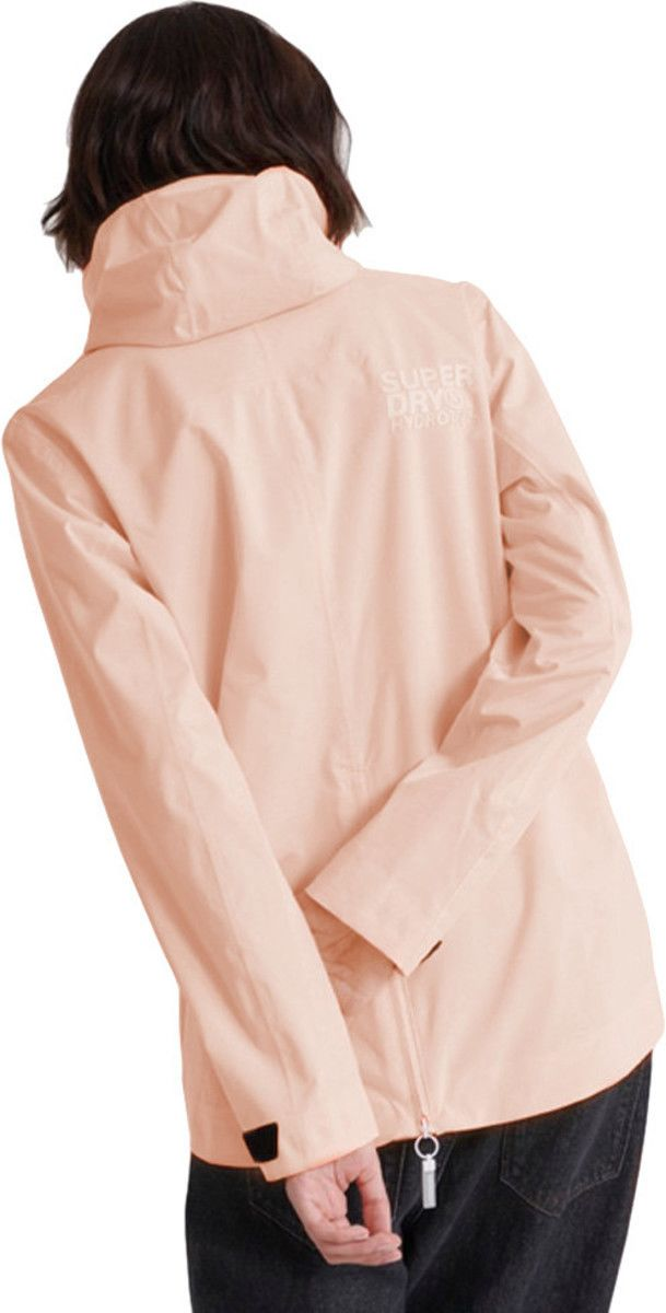 Superdry Women's Harpa Waterproof Jacket Pink