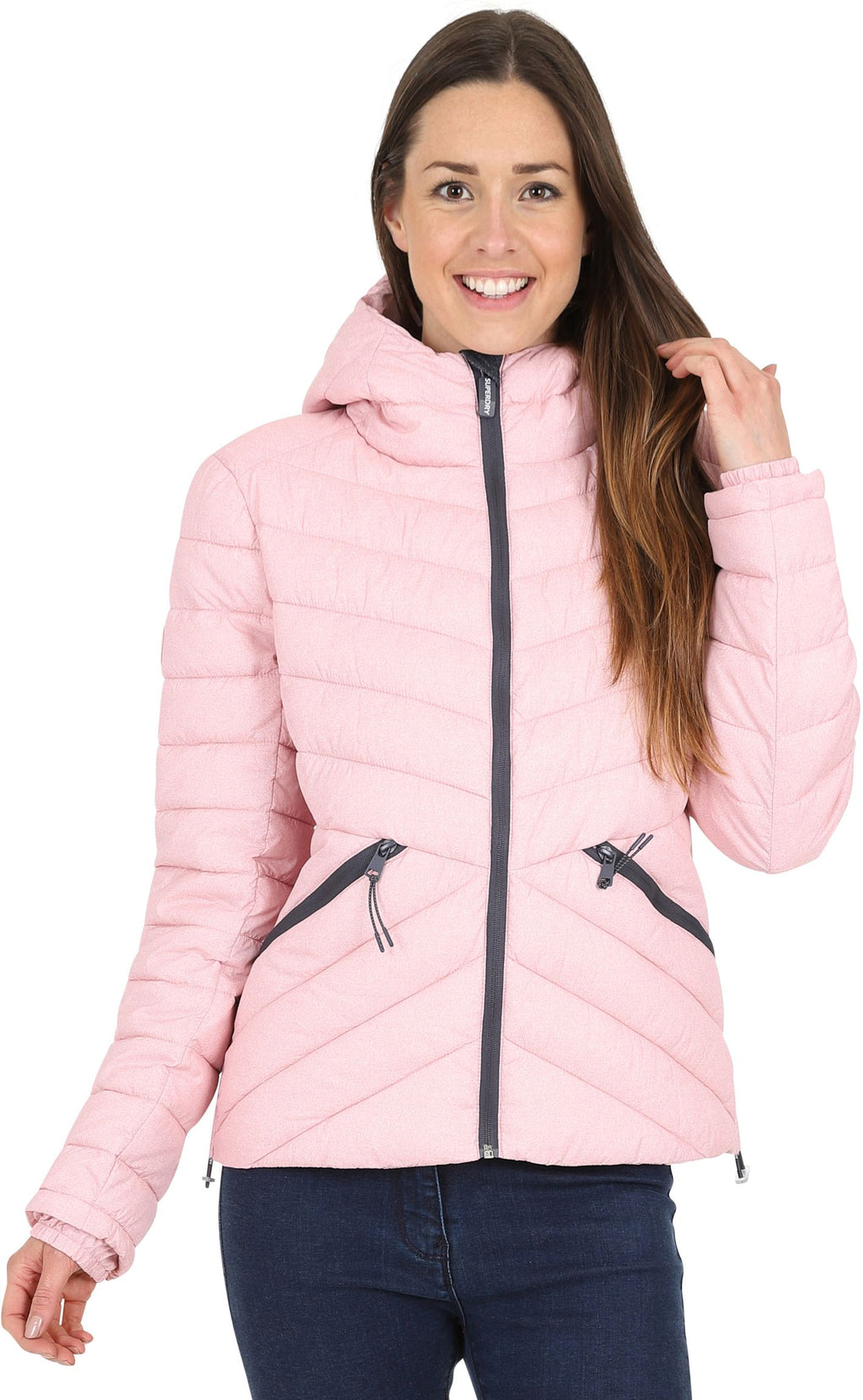 Superdry Women's Helio Fuji Hooded Jacket