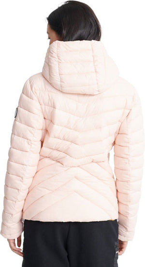 Superdry Women's Helio Padded Jacket Pink
