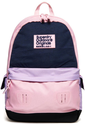 Superdry Women's Montana Backpack Bag Pink