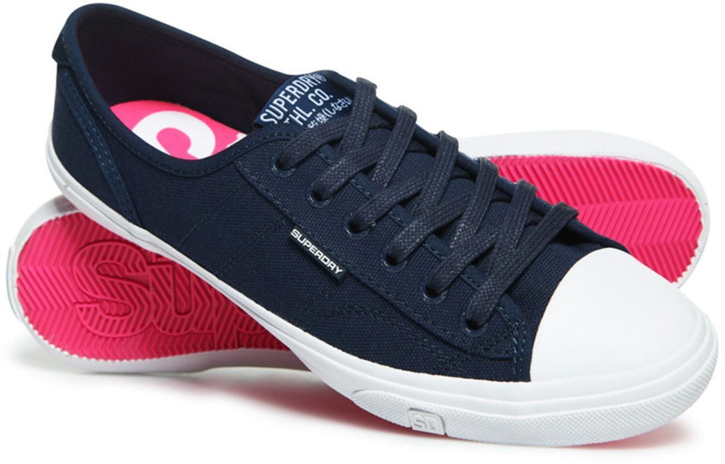 Superdry Women's Low Pro II Trainers Navy