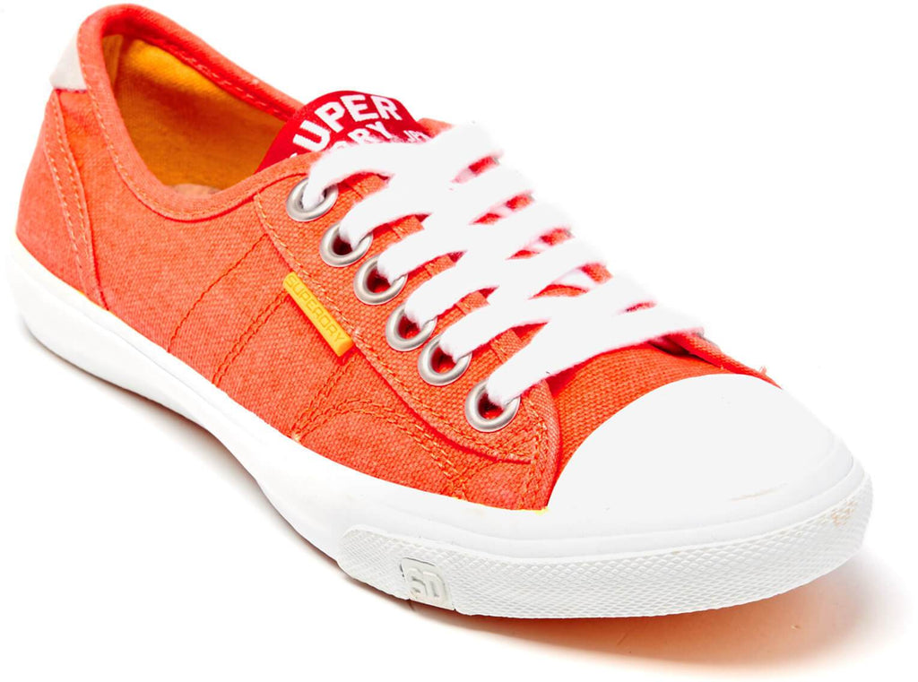 Superdry Women's Low Pro II Trainers Coral