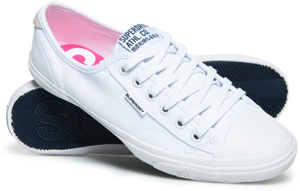 Superdry Women's Low Pro II Trainers White