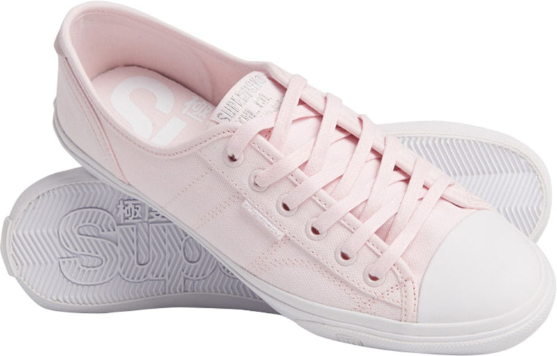 Superdry Women's Low Pro III Trainers Pink