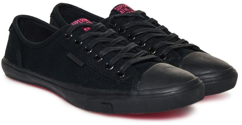 Superdry Women's Low Pro Trainers Black