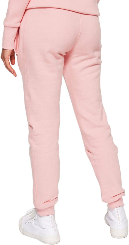Superdry Women's Orange Label Elite Jogger Bottoms Pink