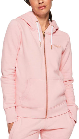 Superdry Women's Orange Label Elite Zip Hoodie