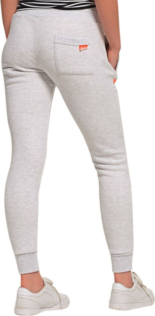 Superdry Women's Orange Label Jogger Bottoms Grey