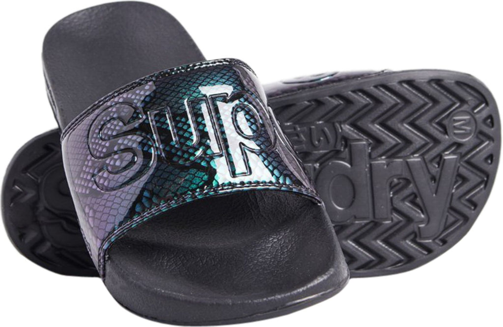 Superdry Women's Original Pool Sliders Black