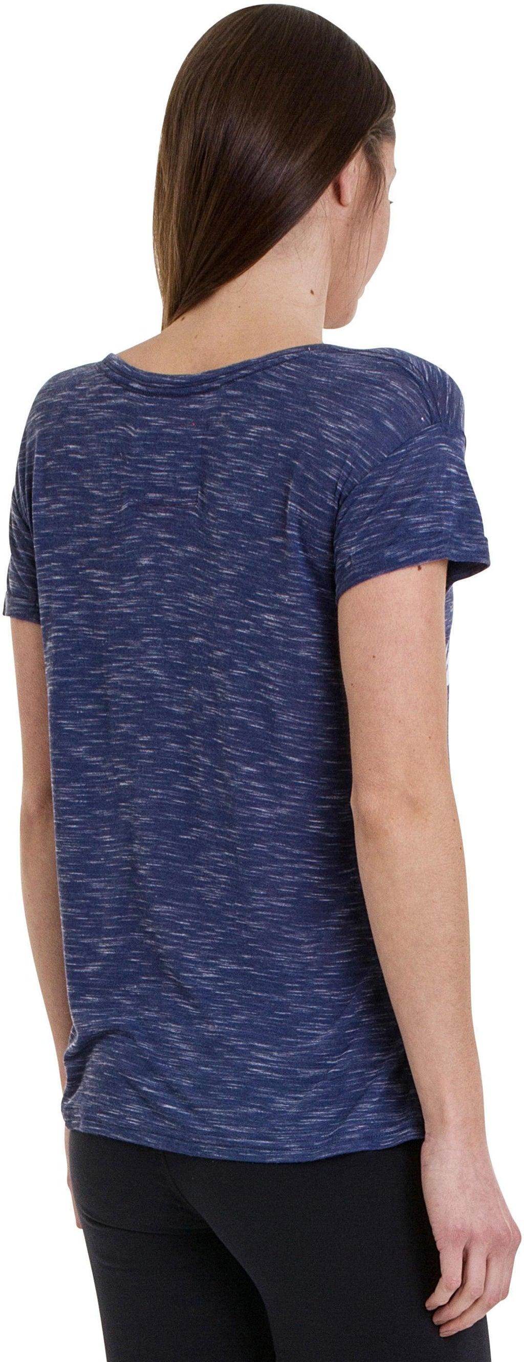 Superdry Women's Pacific Coast Slim Boyfriend T-Shirt Navy