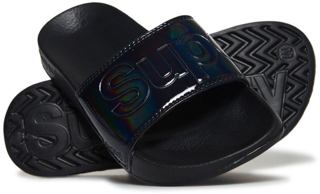 Superdry Women's Pool Sliders Black