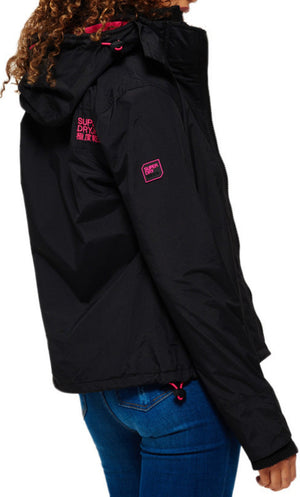 Superdry Women's Pop Zip Hooded Arctic Windcheater Jacket