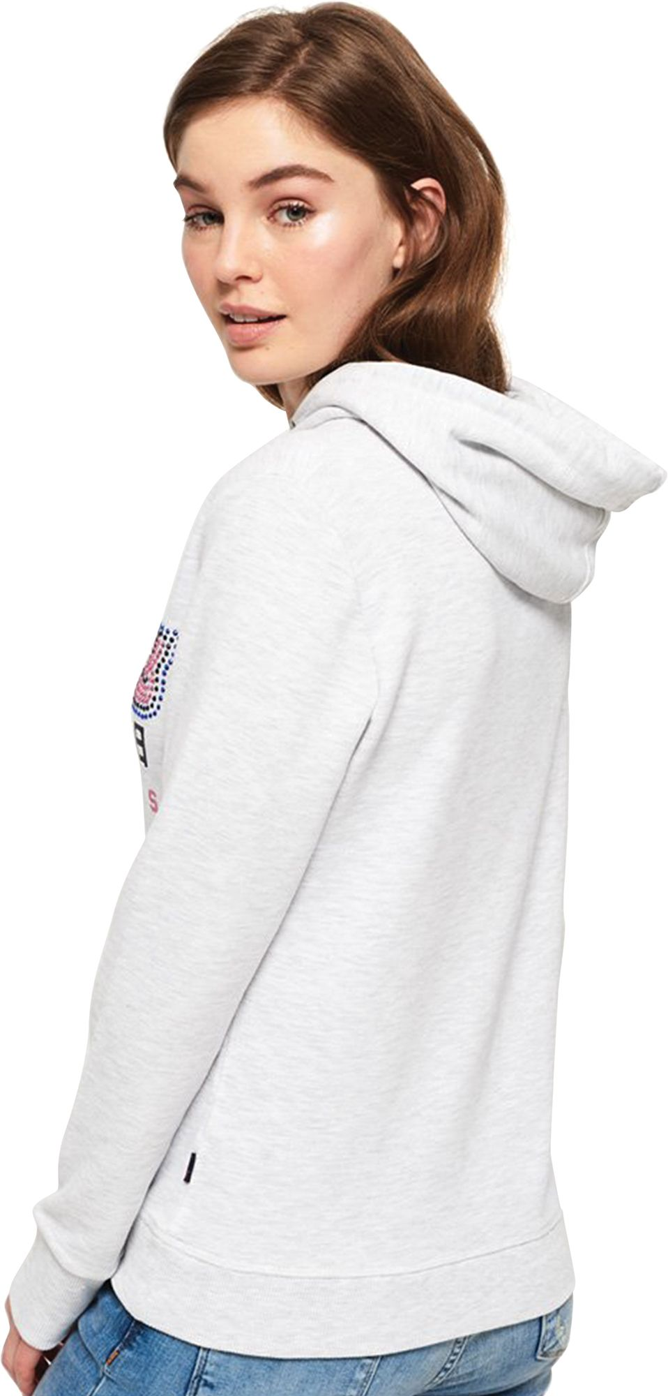 Superdry Women's Premium Goods Hoodie White