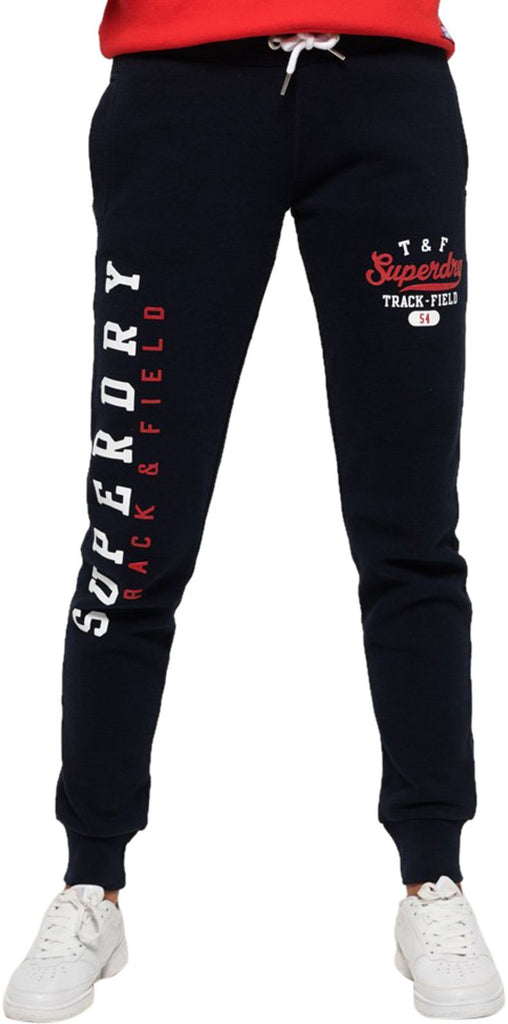 Superdry Women's Track & Field Joggers Blue