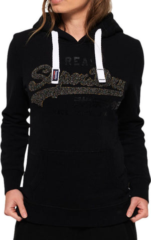 Superdry Croyde Bay Cable Knit Jumper Blue